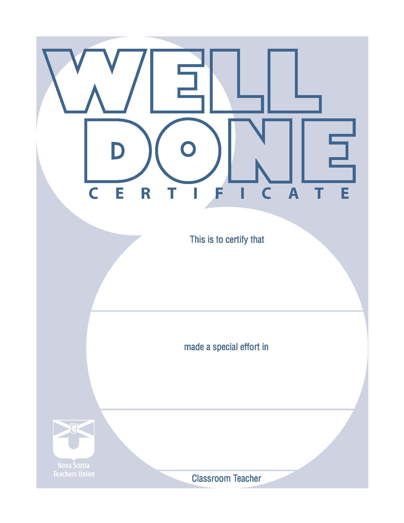 free online printable certificates of achievement